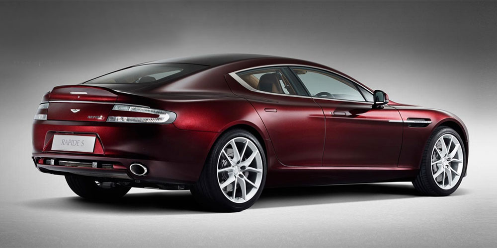 Фото Aston Martin Rapide S Amethyst Red