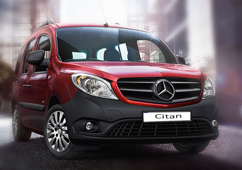 Экстерьер Mercedes-Benz Citan
