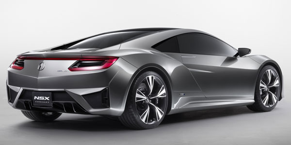 Фото Acura NSX concept back