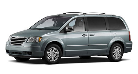Фото Chrysler Town & Country.